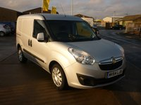 2014 VAUXHALL COMBO VAN 1.2 2300 L1H1 CDTI S/S SPORTIVE 90 BHP twin side doors air con blueooth and more £5495.00