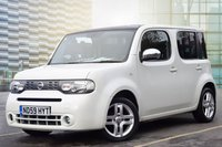 USED 2010 59 NISSAN CUBE 1.6 KAIZEN 5d 109 BHP SUPERB EXAMPLE WITH GREAT SERVICE HISTORY, ONE FORMER KEEPER, 2 KEYS