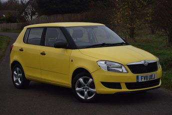 2011 SKODA FABIA 1.2 S 6V 5d 60 BHP £3450.00