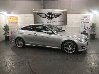 2012 MERCEDES-BENZ C CLASS 2.1 C220 CDI BLUEEFFICIENCY AMG SPORT 2d AUTO 170 BHP £10895.00