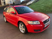 USED 2009 09 VOLVO V50 2.0 SE D 5d AUTO 136 BHP 2 PREVIOUS KEEPERS +  FULL SERVICE RECORD (8 STAMPS) *  FULL YEAR MOT *  CLIMATE CONTROL *