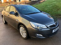 USED 2011 11 VAUXHALL ASTRA 1.7 EXCITE CDTI 5d 108 BHP 2 PREVIOUS KEEPERS +  FULL SERVICE RECORD (7 STAMPS) *  FULL YEAR MOT *