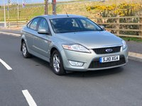 USED 2010 10 FORD MONDEO 2.0 ZETEC TDCI 5d AUTO 140 BHP FULL YEAR MOT *  BLUETOOTH *  PARKING SENSORS *