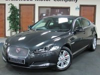 2015 JAGUAR XF 2.2 D LUXURY 4d AUTO 163 BHP £15475.00