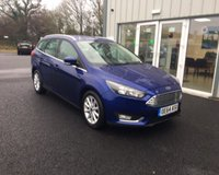 USED 2014 64 FORD FOCUS 1.6 TITANIUM NAVIGATOR AUTOMATIC 125 BHP THIS VEHICLE IS AT SITE 1 - TO VIEW CALL US ON 01903 892224