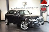 USED 2013 13 AUDI Q5 2.0 TDI QUATTRO S LINE PLUS S/S 5DR 175 BHP full audi service history PHANTOM METALLIC BLACK WITH FULL BLACK LEATHER INTERIOR + FULL AUDI SERVICE HISTORY + SATELLITE NAVIGATION + BLUETOOTH + CRUISE CONTROL + RAIN SENSORS + PARKING SENSORS + 20 INCH ALLOY WHEELS