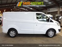 """USED 2014 14 FORD TRANSIT CUSTOM 2.2 270 LIMITED LR  VAN 125 BHP- ONE OWNER-SERVICE HISTORY-AIR CON """"YOU'RE IN SAFE HANDS"""" - AA DEALER PROMISE"""