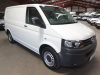 "USED 2010 60 VOLKSWAGEN TRANSPORTER 2.0 T28 SWB TDI  102 BHP VAN-ONE OWNER-FULL SERVICE HISTORY ""YOU'RE IN SAFE HANDS"" - AA DEALER PROMISE"