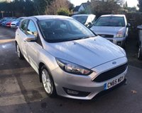 USED 2015 65 FORD FOCUS 1.0 ZETEC ECOBOOST 125 BHP THIS VEHICLE IS AT SITE 1 - TO VIEW CALL US ON 01903 892224