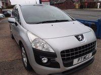 2010 PEUGEOT 3008 1.6 SPORT 5d 120 BHP £3995.00