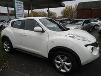 2012 NISSAN JUKE 1.6 ACENTA 5d 117 BHP ONE OWNER FROM NEW £5995.00