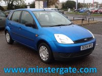 2004 FORD FIESTA 1.2 LX 16V 5d 74 BHP * ONLY 49000 MILES, SERVICE HISTORY * £1990.00