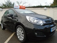 USED 2011 61 KIA RIO 1.2 2 5d 83 BHP GUARANTEED TO BEAT ANY 'WE BUY ANY CAR' VALUATION ON YOUR PART EXCHANGE