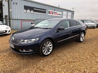 2015 VOLKSWAGEN CC 2.0 GT TDI BLUEMOTION TECHNOLOGY 4d 138 BHP £10490.00