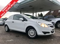USED 2008 58 VAUXHALL CORSA 1.2 SWB CDTI 1d 73 BHP Air Con, Only 39,000 Miles, Direct BT, Service History, Finance Arranged.