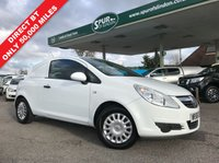 USED 2008 58 VAUXHALL CORSA 1.2 SWB CDTI 1d 73 BHP Direct BT, Only 50,000 Miles, Service History, Finance Arranged.
