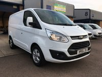 2015 FORD TRANSIT CUSTOM 2.2 270 LIMITED LR P/V 1d 124 BHP £9295.00