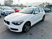 USED 2012 62 BMW 1 SERIES 1.6 116I SPORT 5d 135 BHP Just arrived in stock