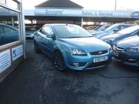 USED 2007 07 FORD FOCUS 2.0 CC3 2d 144 BHP