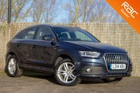 USED 2014 14 AUDI Q3 2.0 TDI QUATTRO S LINE 5d 138 BHP £0 DEPOSIT BUY NOW PAY LATER - FULL AUDI S/H - NAVIGATION