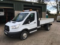2016 FORD TRANSIT 2.2 350 single-cab tipper 125 BHP £14650.00