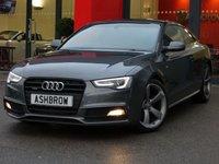 2014 AUDI A5 2.0 TDI QUATTRO S LINE BLACK EDITION 2d 177 S/S £14483.00