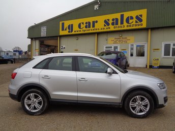 Used Audi Q3 Cars In Ely From Lg Car Sales