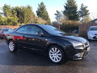 2007 FORD FOCUS 2.0 CC3 2d  WITH ONLY ONE PRIVATE OWNER FROM NEW £2750.00
