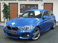 USED 2015 65 BMW 1 SERIES 1.5 116D M SPORT 5d 114 BHP