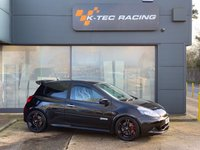 USED 2009 59 RENAULT CLIO 2.0 RENAULTSPORT 3d 197 BHP FULL LEATHER RECARO INTERIOR, CUP CHASSIS, CUP SPOILER, H&R SPRINGS, FULL SERVICE HISTORY