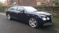 2013 BENTLEY FLYING SPUR 6.0 W12 4d AUTO 616 BHP £67500.00