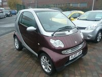 2007 SMART FORTWO 0.7 PASSION SOFTOUCH 2d AUTO 61 BHP £2499.00