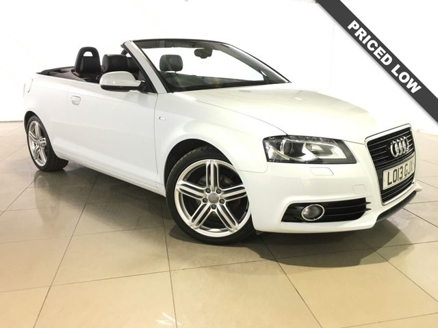 View our 2013 13 AUDI A3 2.0 TDI S LINE FINAL EDITION NAV 2d 138 BHP