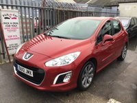 USED 2012 12 PEUGEOT 308 1.6 E-HDI ACTIVE 5d 112 BHP Diesel, low road tax, fantastic economy, alloys air/con, superb