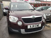 USED 2011 11 SKODA YETI 2.0 S TDI CR 5d 109 BHP Diesel mpv, only 67000 miles, fantastic economy, lots of room. Superb