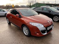 USED 2010 10 RENAULT MEGANE 1.9 PRIVILEGE TOMTOM DCI 3d 130 BHP SERVICE HISTORY
