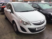 USED 2012 12 VAUXHALL CORSA 1.0 S ECOFLEX 3d 64 BHP Low mileage, low insurance low price, not to be missed.