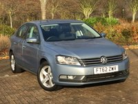 2013 VOLKSWAGEN PASSAT 1.6 S TDI BLUEMOTION TECHNOLOGY 4d 104 BHP £5995.00