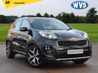 USED 2016 66 KIA SPORTAGE 2.0 CRDI GT-LINE 5d AUTO 134 BHP We are delighted to offer for sale this stunning November 2016 Kia Sportage 2.0crdi GT-Line AUTOMATIC 4X4 in black with just 14000 miles. 1 keeper with service history and 2 keys.