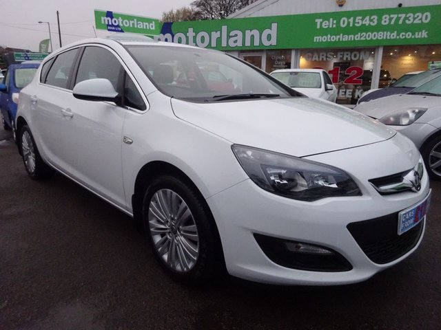 USED 2014 64 VAUXHALL ASTRA 1.4 EXCITE 5d 98 BHP 2 PRIVATE OWNERS FROM NEW...£0 DEPOSIT FINANCE AVAILABLE...CALL TODAY ON 01543 877320