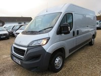2016 PEUGEOT BOXER 2.0 HDI 335 L3H2 PROFESSIONAL 130 BHP 20,508 MILES ONLY SAT NAV AIR CON CRUISE £12750.00
