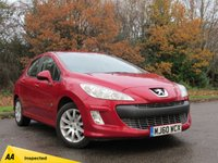USED 2010 60 PEUGEOT 308 1.6 ENVY HDI 5d 92 BHP BLUETOOTH CONNECTION, ALLOY WHEELS