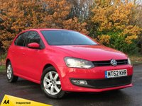 USED 2012 62 VOLKSWAGEN POLO 1.4 MATCH 5d 83 BHP JUST BEEN SERVICED, MOT NOV 2019
