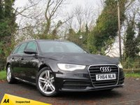 USED 2014 64 AUDI A6 2.0 AVANT TDI ULTRA S LINE 5d ESTATE **LUXURY ESTATE VEHICLE**LOW RUNNING COSTS**
