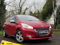 USED 2013 63 PEUGEOT 208 1.6 E-HDI ALLURE FAP 3d  **HIGH SPECIFICATION HATCHBACK**