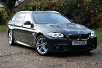 2014 BMW 5 SERIES 2.0 520D M SPORT TOURING 5d AUTO 181 BHP