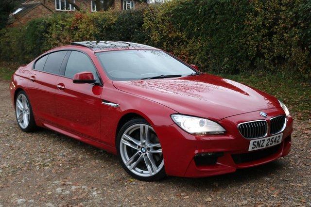 2012 BMW 6 SERIES 3.0 640D M SPORT GRAN COUPE 4d AUTO 309 BHP