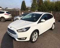 USED 2016 16 FORD FOCUS 1.0 ZETEC NAVIGATOR ECOBOOST 125 BHP THIS VEHICLE IS AT SITE 1 - TO VIEW CALL US ON 01903 892224