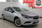 USED 2016 16 VAUXHALL ASTRA 1.4 DESIGN 5DR FULL SERVICE HISTORY FULL SERVICE HISTORY + BLUETOOTH + CRUISE CONTROL + MULTI FUNCTION WHEEL + AIR CONDITIONING + ELECTRIC WINDOWS + 17 INCH ALLOY WHEELS