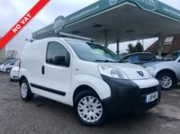 USED 2011 11 PEUGEOT BIPPER 1.4 HDI PROFESSIONAL 1d 68 BHP NO VAT, Air Con, Service History, Rhino Roof Bars.